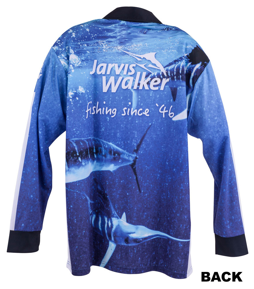 Jarvis walker fishing apparel for sale marlin shirt for Fishing shirts on sale