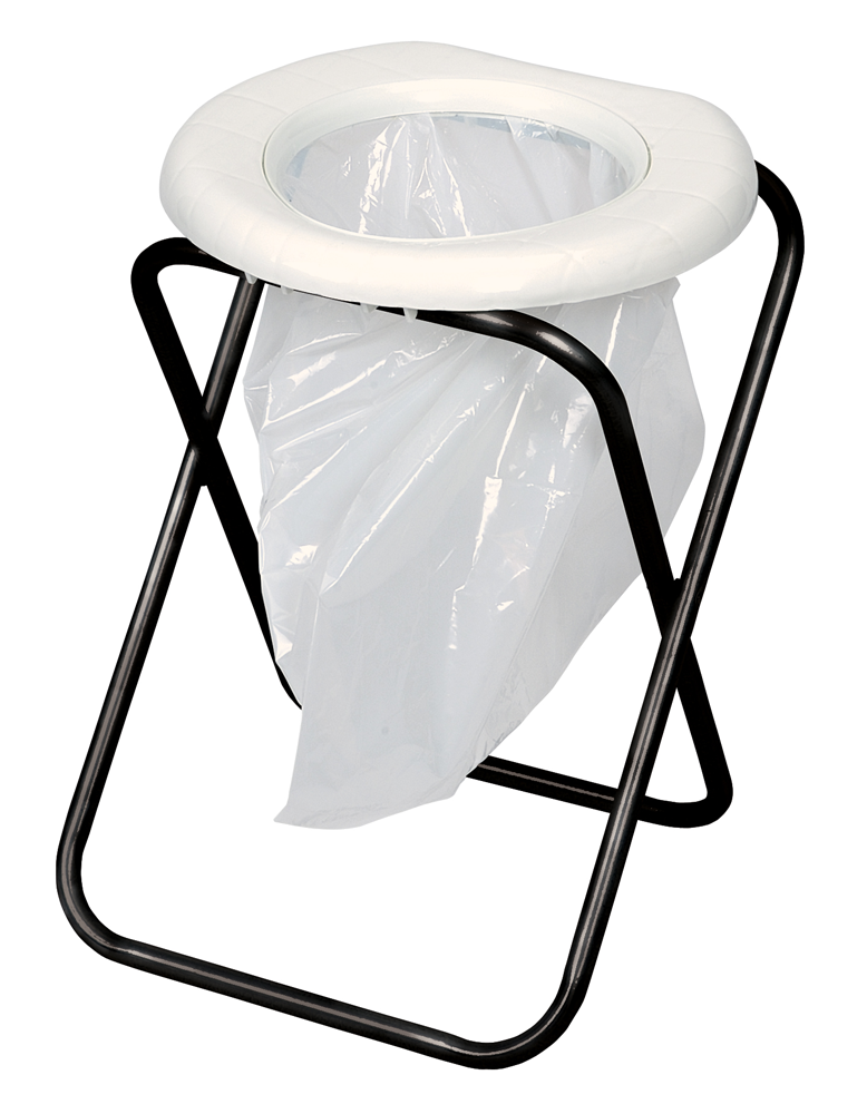 Portable Toilet Disposable Bag Style With Folding Frame