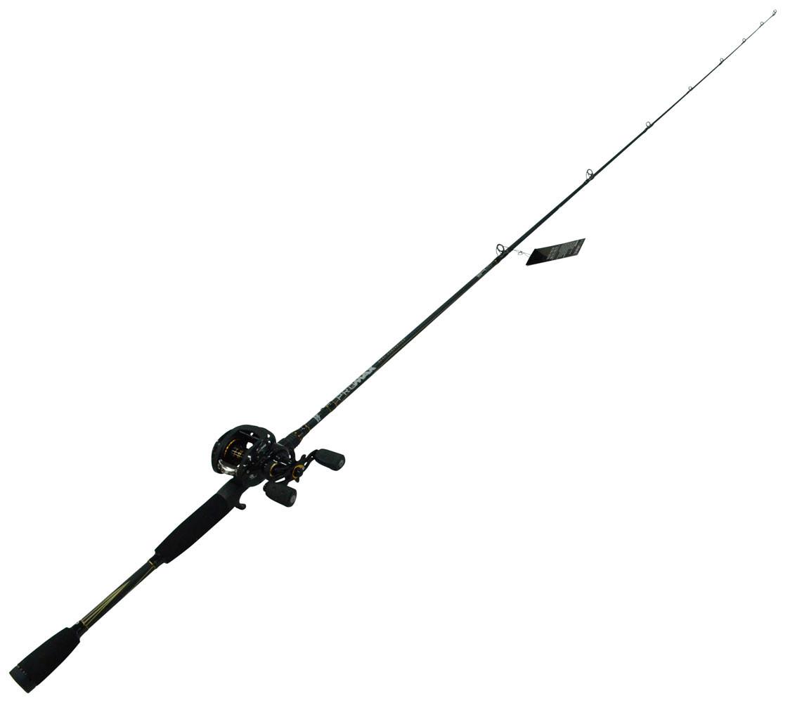 Abu garcia pro max baitcaster rod reel combo 6 8kg for Baitcaster fishing rod