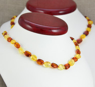 baby and mom teething necklaces