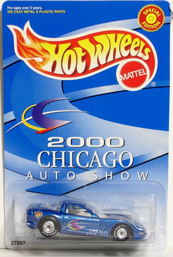 Hot Wheels 1997 Corvette for the Chicago Auto Show