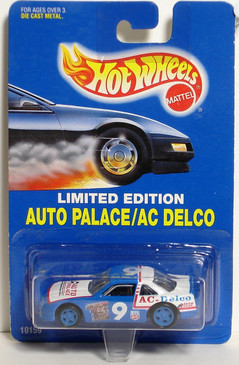 Hot Wheels Limited Edition Store Promo Auto Palace AC Delco Race Car