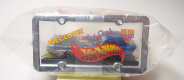 Hot Wheels 1997 New York Toy Fair Deora promoting Nascar driver Kyle Petty.  These are still sealed in the baggie.