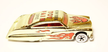Hot Wheels 1992 New York Toy Fair Purple Passion in Gold Chrome...loose