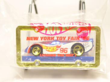 Hot Wheels 1996 New York Toy Fair Hot Wheels featuring the Power Piston in a sealed baggie