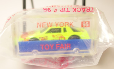 Hot Wheels 1995 New York Toy Fair Hot Wheels Chevy Stocker mint in the baggie