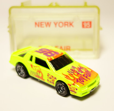 Hot Wheels 1995 New York Toy Fair premium featuring the Chevy Stocker