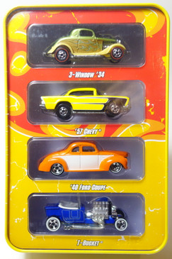 Hot Wheels Since 68 Series featuring the Hot Rods 4-car set