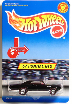 '67 Pontiac GTO Hot Wheels Jiffy Lube Promotional