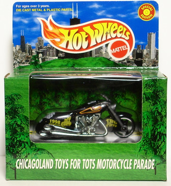 Scorchin' Scooter Hot Wheels 1998 Toys for Tots Promotional