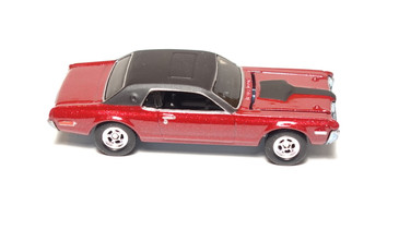 Hot Wheels Ultra Hot Series '68 Mercury Cougar, metalflake red, mint loose