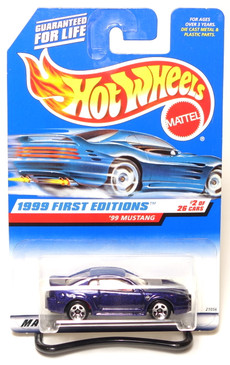 1999 First Editions, Coll#909 '99 Ford Mustang, purple with red interior