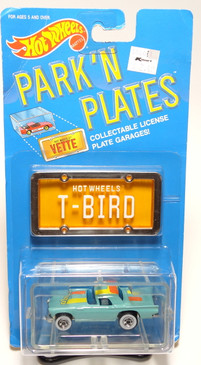Hot Wheels Park n Plates '57 T-Bird  with alternate tampo color, BP