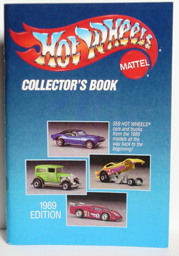 1989 hot wheels collectors book