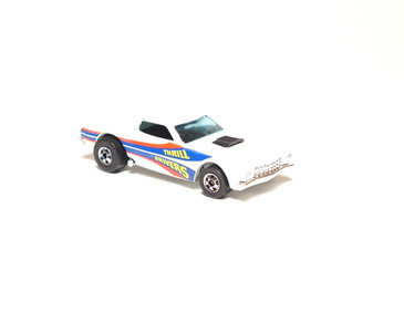 Hot Wheels Thrill Drivers White Ford Torino, loose
