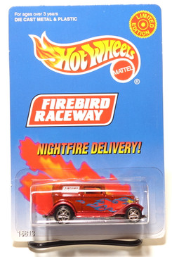 Hot Wheels Firebird Raceway NIGHTFIRE DELIVERY Limited Edition