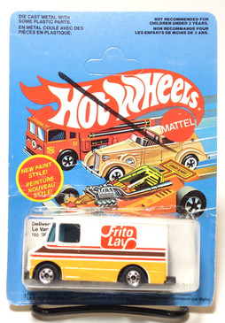 Hot Wheels Frito Lay Delivery Van on Unpunched French/Canadian Blisterpack