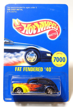 Hot Wheels 1996 Early Times Mid Winter Rod Run Fat Fendered '40 Ford Limited Edition