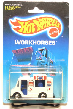 Hot Wheels Old Blister Workhorses Good Humor Truck MOC