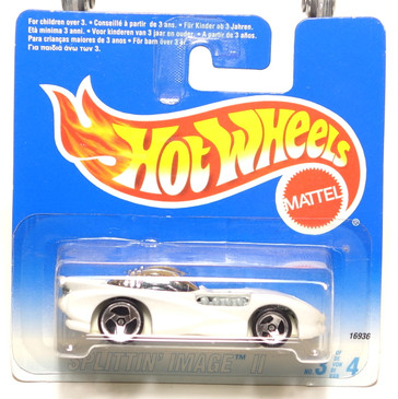 Hot Wheels International Short Card Blister Splittin Image