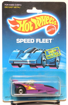 Hot Wheels Old Blister Speed Fleet XT-3 in Purple MOC