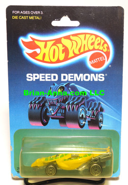 Hot Wheels Turboa in Yellow in Speed Demons blister