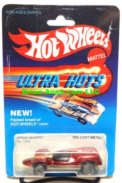 Hot Wheels Speed Seeker, Dk metallic Red in Ultra Hots Package