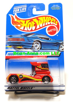 Hot Wheels 1999 First Editions Semi Fast, 1-metal grill variation Coll#914
