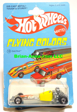 Hot Wheels Odd Rod, Blackwall Wheels, Flying Colors Package