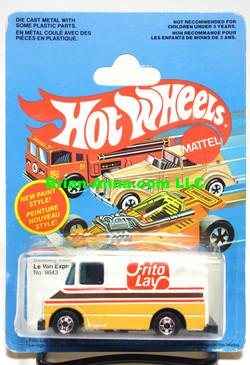Hot Wheels Frito Lay Delivery Van on French/Canadian Blisterpack (MS3-537)