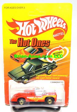 Hot Wheels Red Cannonade w/hogd wheels (ms3-572)