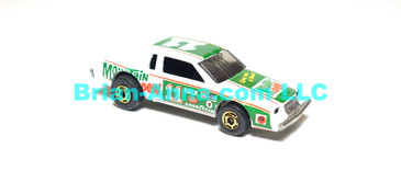 Hot Wheels  Nascar Stocker Racing Stocker, Mountain Dew, Medium Green, hogd wheels, Malaysia base, loose (ms-623)