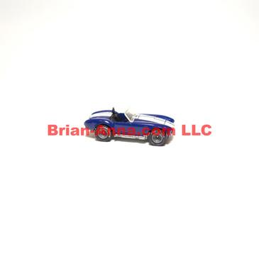 Hot Wheels Real Rider Classic Cobra, Dark Enamel Blue, Gray Hubs, Hong Kong base  (ms3-637)