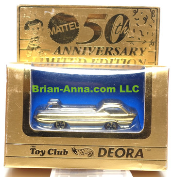 Hot Wheels 50th Anniversary Deora Pre-release