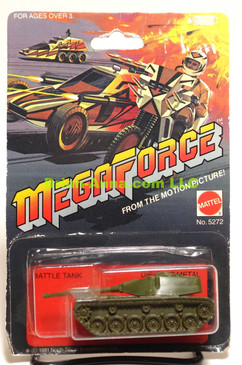 Hot Wheels Mega Force Battle Tank in Combat Green, in BP (ms3-691)