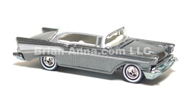 Hot Wheels Ultra Hot Series Chevy Bel Air, White over metalflake Gray, LOOSE