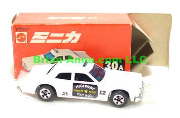 Hot Wheels Mattel Japan Box, Sheriff Patrol in white  with blackwalls