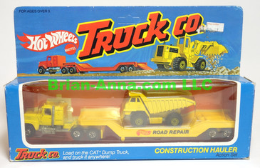 Hot Wheels Truck Co. Construction Hauler in the box