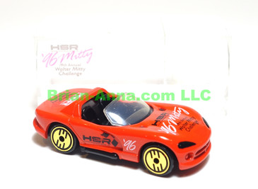 Hot Wheels Dodge Viper R/T 10 in Red, Walter Mitty Challenge Code 3