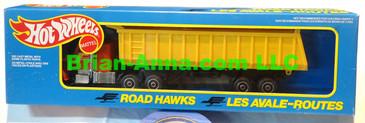 Hot Wheels Road Hawks Gravel Transport Truck 1/43 Scale Trucks