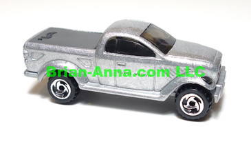 Hot Wheels Dodge Power Wagon Pickup, Silver, CTD wheels,  Malaysia base, loose