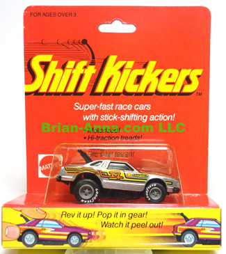 Mattel Toys Shift Kickers, Torquin T in metalflake Silver,  still in the package