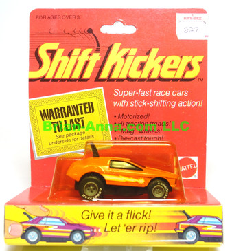 Mattel Toys Shift Kickers, Wind Sprinter in Orange, still in the package