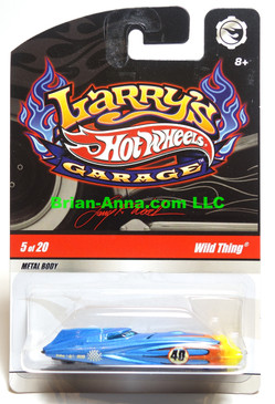 Hot Wheels Larry's Garage Series, Wild Thing in Blue