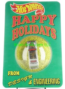 Hot wheels Happy Holidays 1993 Purple Passion Mattel Employee Christmas Car Happy Holidays