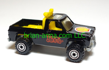 Hot Wheels Shell Bywayman, Black, loose