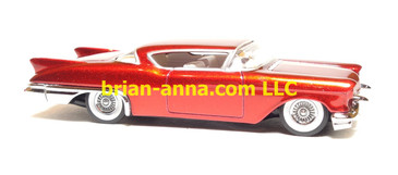 Hot Wheels 1957 Cadillac Eldorado, Metal Flake Red, Legends Series