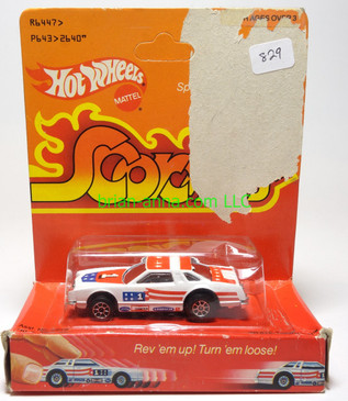 Hot Wheels Scorchers White Thunder, in Pkg