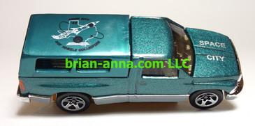 Hot Wheels 1996 Space City Club Car, Dodge Ram 1500, Loose