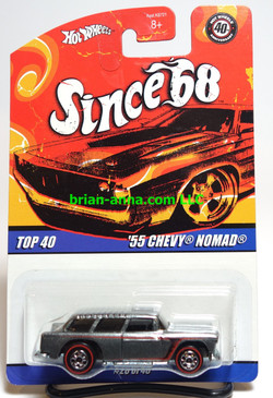 Hot Wheels Since 68 Top 40, '55 Chevy Nomad with Redline wheels